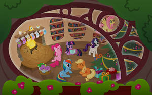 Circle of Friends by Capt-Nemo
