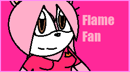 Flame fan stamp by FireBladeFlame