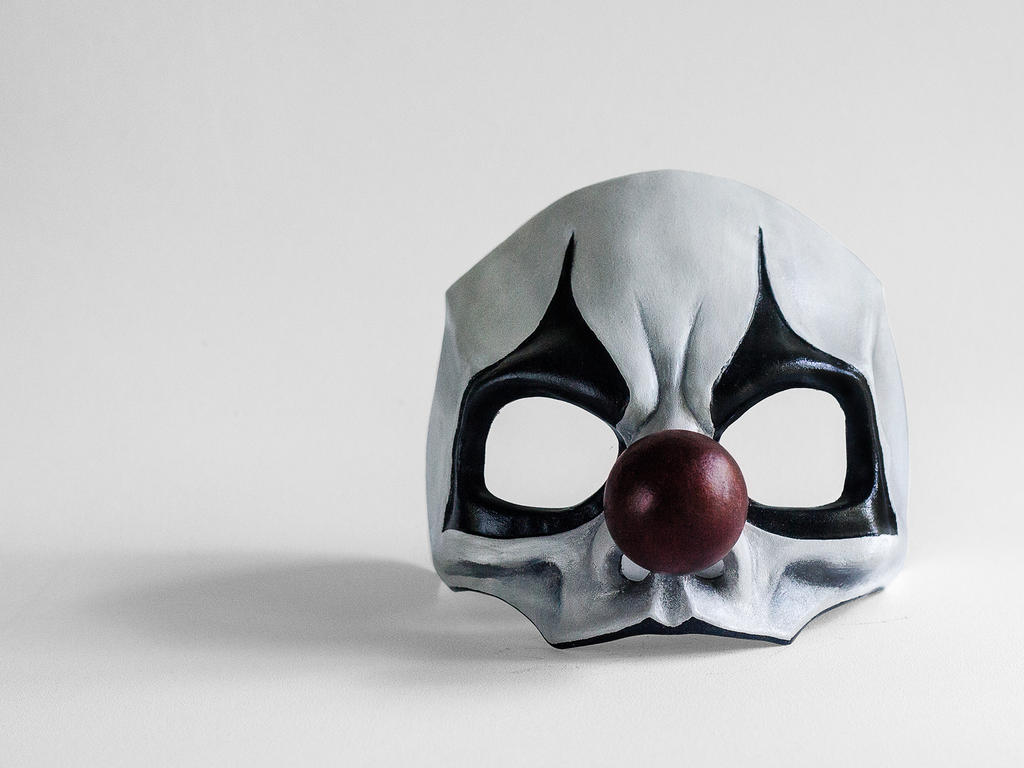 Joker of 'Screams' front view by Edward-Jekyll