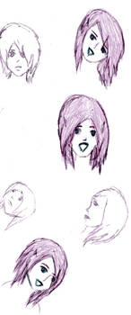 Pink-Purple Faces