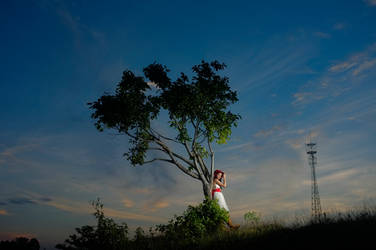 The lonley tree once more by glennpalacio