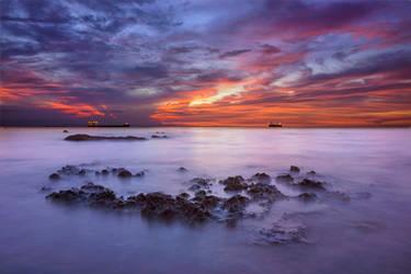 The Sunset Of Trade by glennpalacio