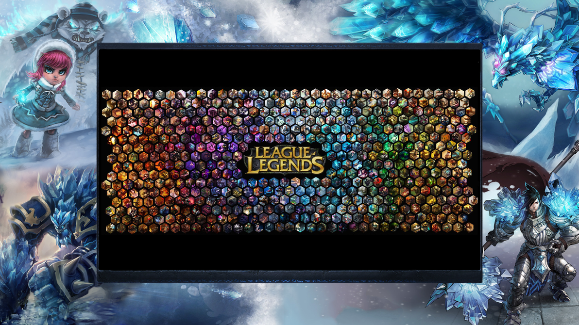League of Legends WP - Launcher Integrated by DioHard on DeviantArt