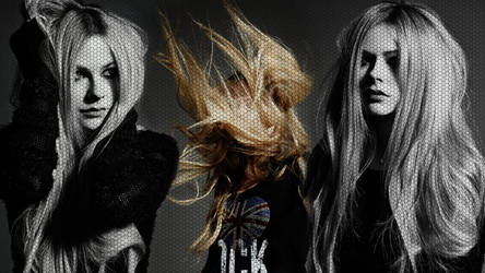 Avril Lavigne Wallpaper Hex by DioHard