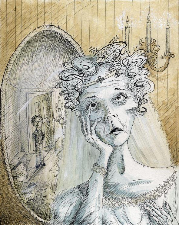 Miss Havisham by elsewhere- on DeviantArt