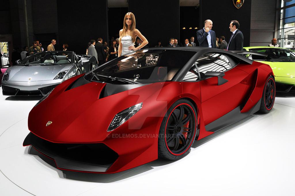 Lamborghini Sesto Elemento By Edlemos On Deviantart