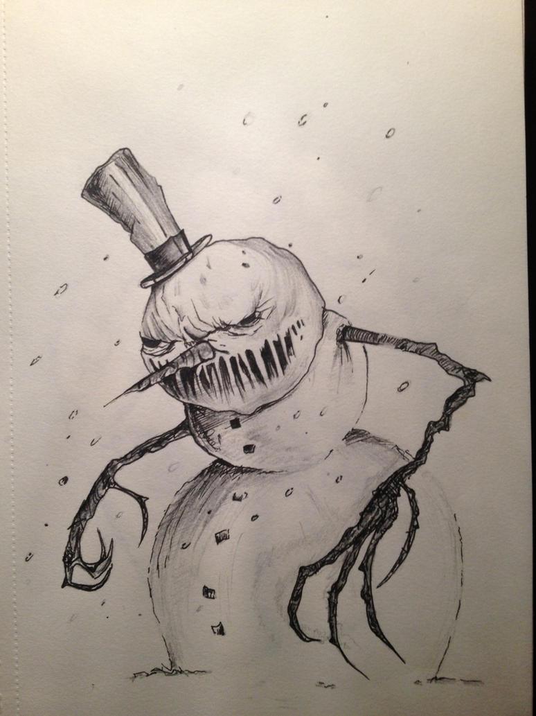 Evil Snowman WallpaperEvil Snowman Tattoo