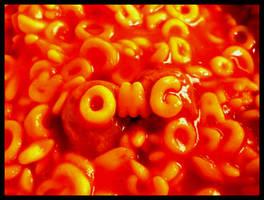 OMG Spaghetti O's by FramedByNature