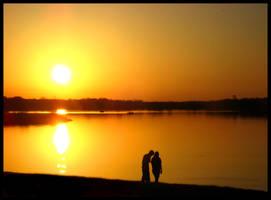 The Sunset Stroll by FramedByNature