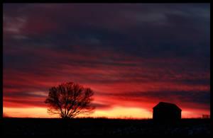 Goodnight, Farm by FramedByNature
