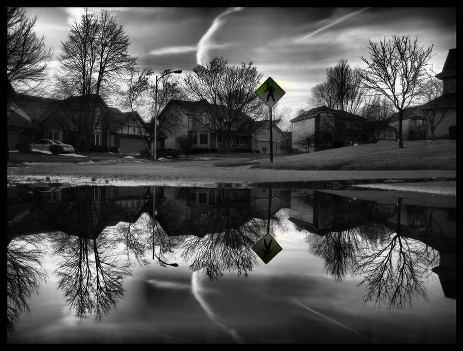 Dark Side of the Suburbs by FramedByNature