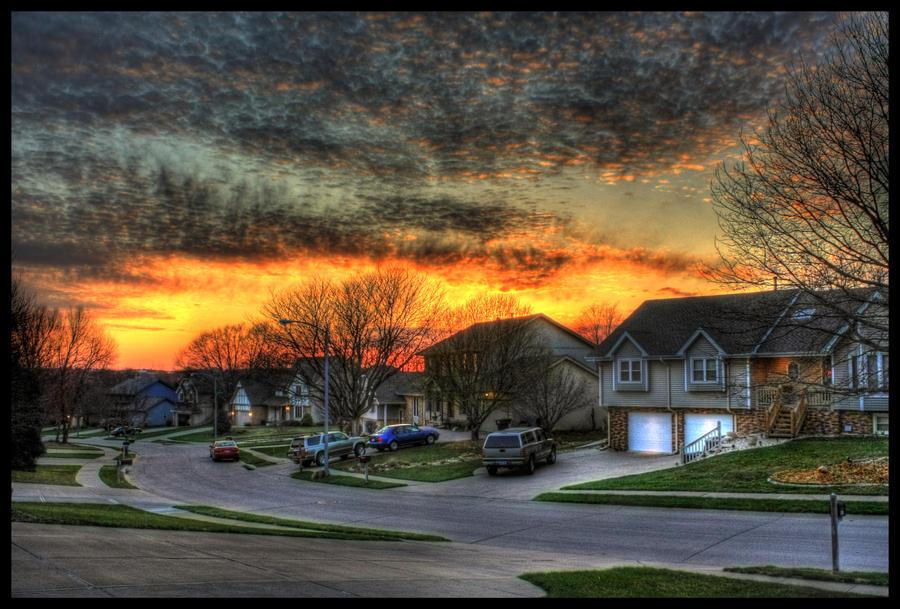 Street-Level Sunset by FramedByNature