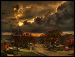 November Storms II by FramedByNature
