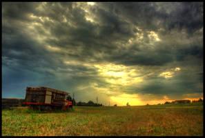 Break in the Storm II by FramedByNature