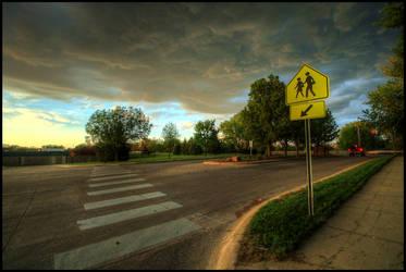 Storm Crossing by FramedByNature