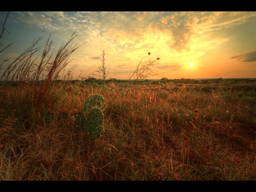 Sundown in Kansas by FramedByNature