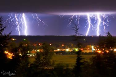 Late-Season Lightning by FramedByNature