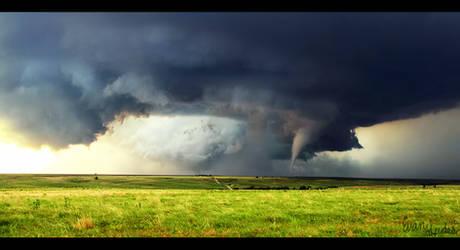 Tornado in the Plains