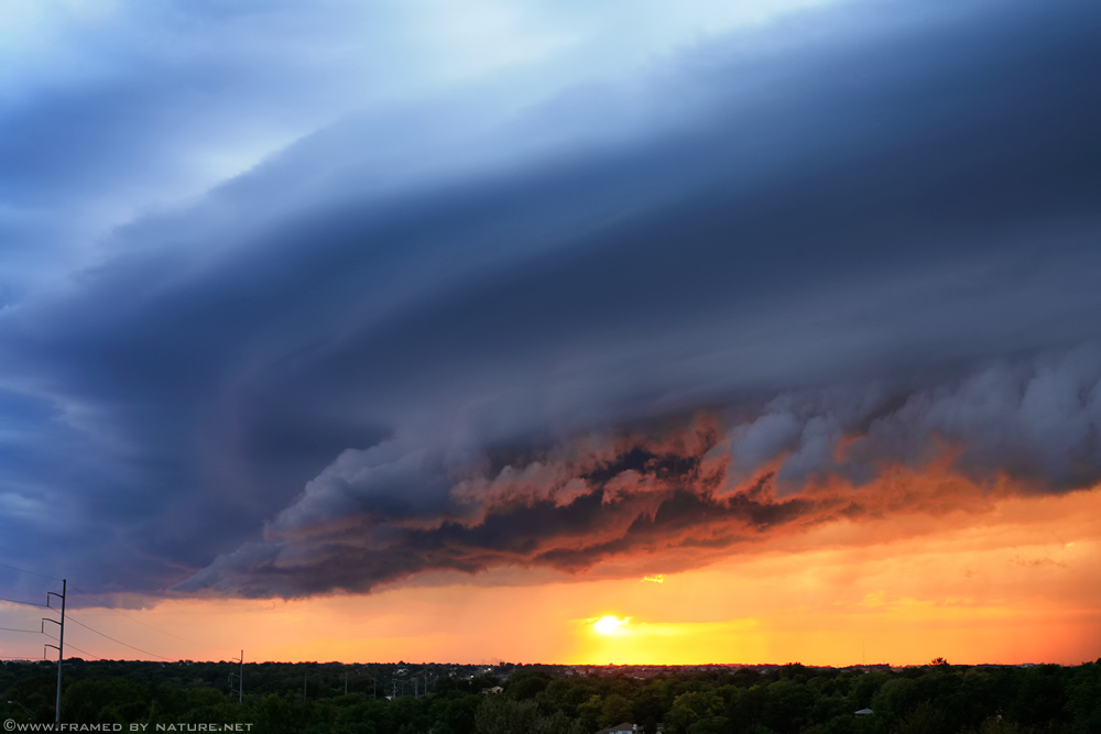 September Supercell III by FramedByNature