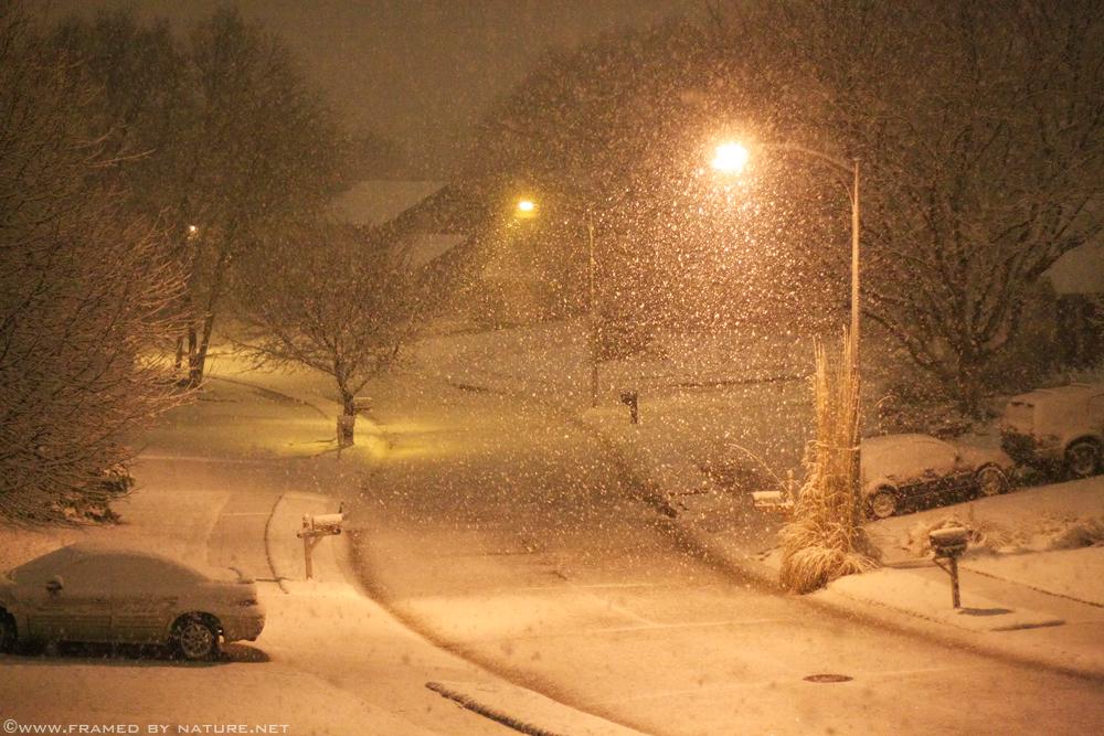 The Snowy Suburbs by FramedByNature