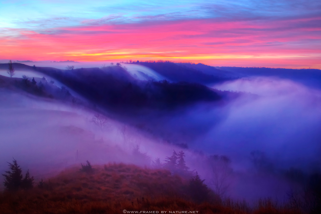 The Morning Fogfalls by FramedByNature