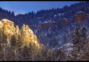 Canyon's Winter Majesty