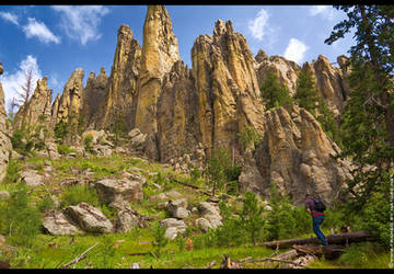Hiking the Spires by FramedByNature
