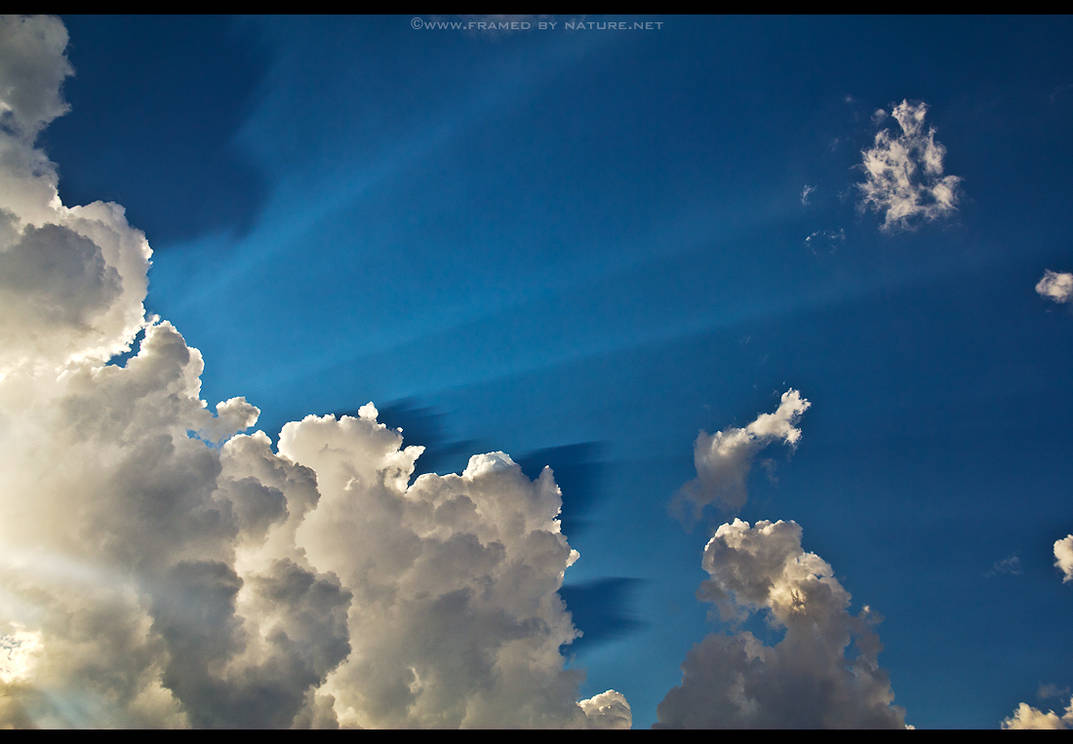 The Sky is Filled with Crepusculars by FramedByNature