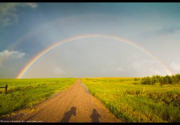 Spectrum Over South Dakota by FramedByNature