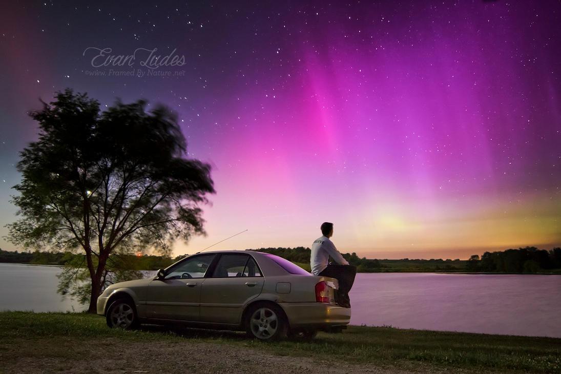 In Awe of Aurora by FramedByNature