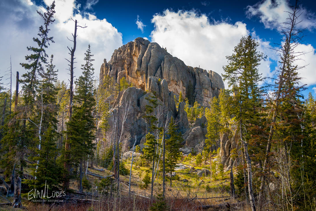 Secluded by Spires by FramedByNature