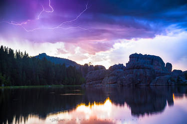 Sylvan's Surreal Thunder by FramedByNature