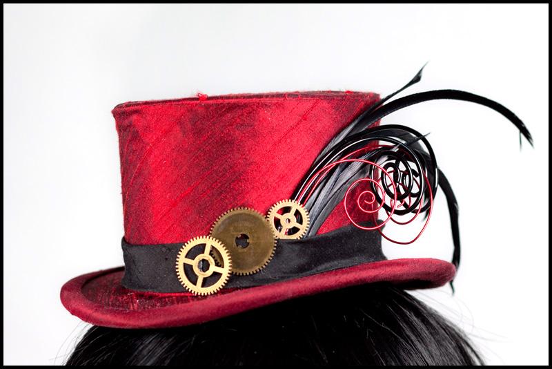 Gears Galore - Mini Hat by Elemental-Sight