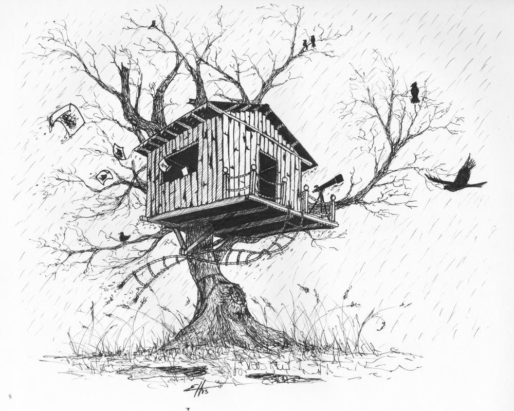Mi casa en el arbol by Hermosilla