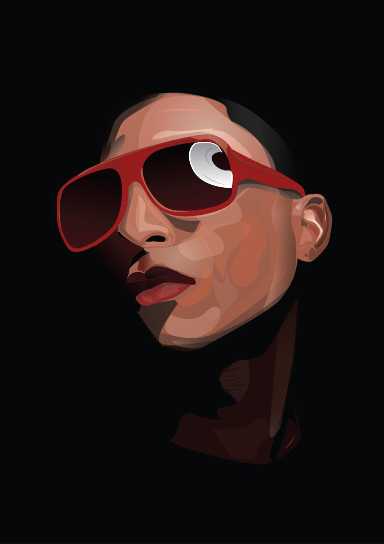 Pharrell Williams by AlienBiobsy