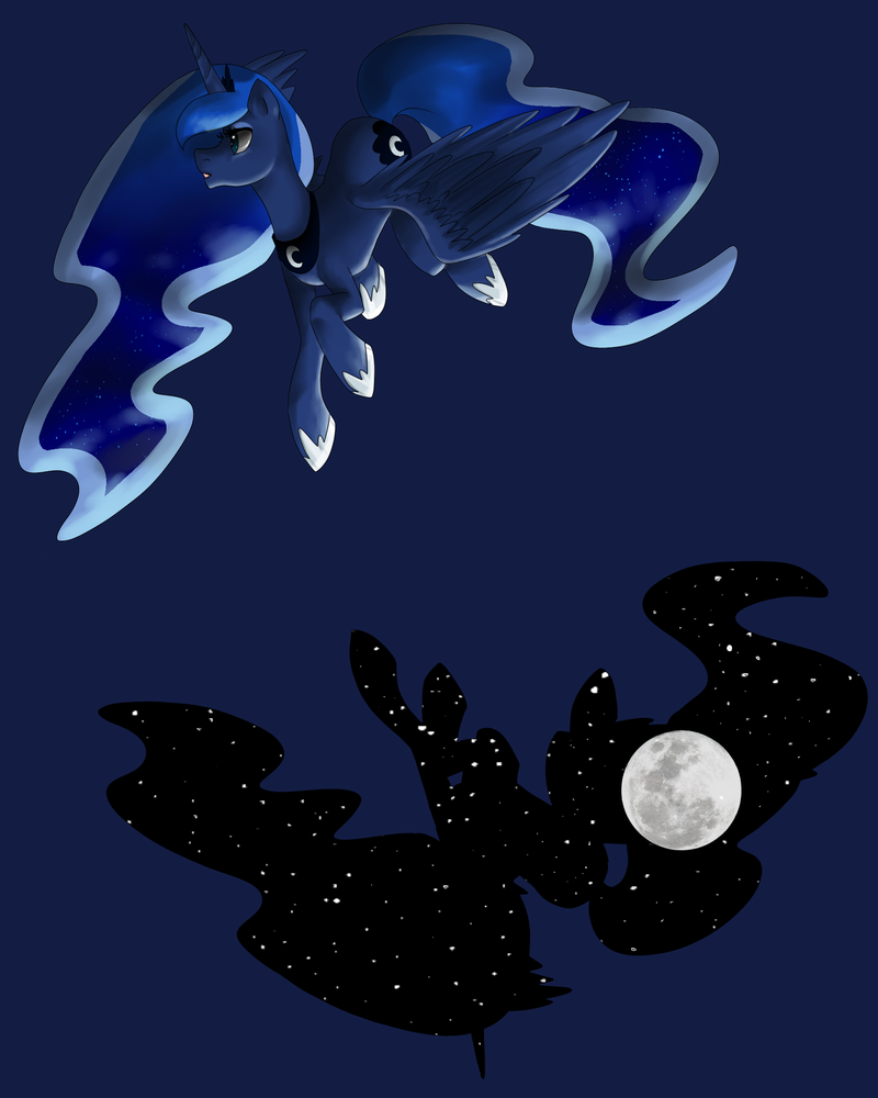 Luna et La Lune by EtrnlPeace