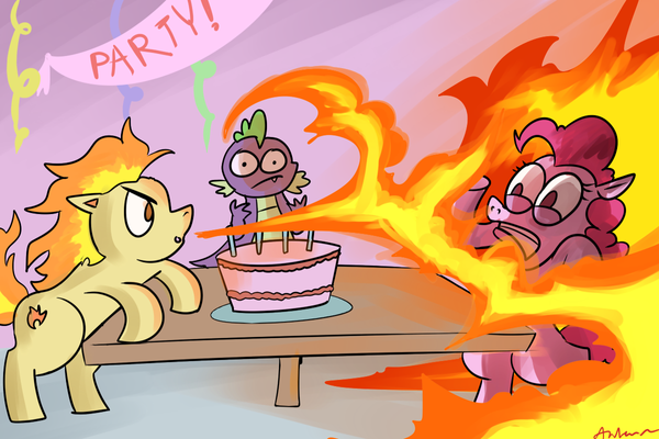 Pontya is the Best Pony by AndrewMartinD