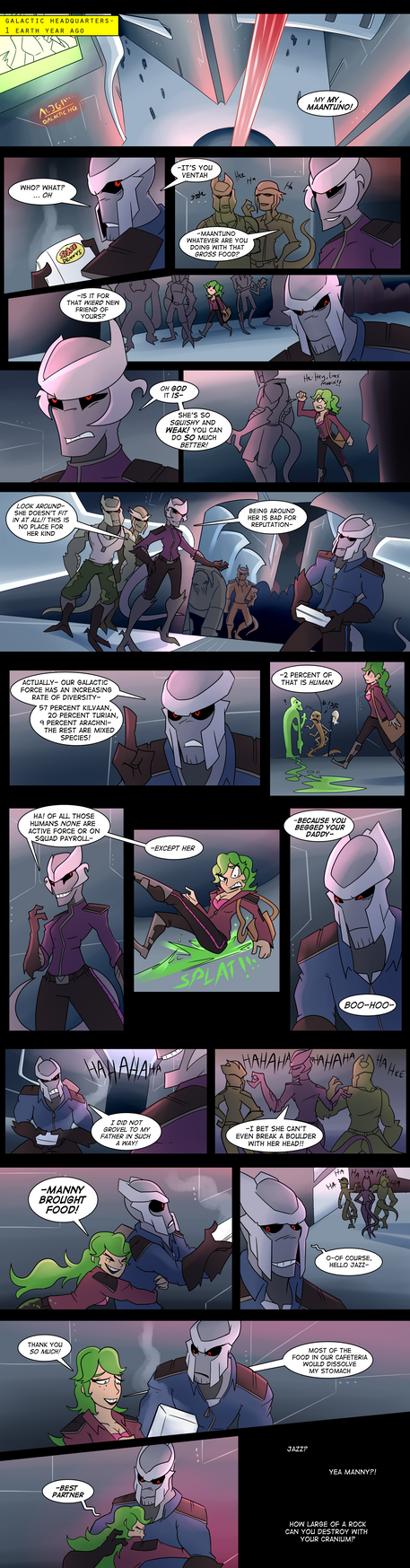 Galactic Smackdown: Round 2 PROLOGUE by AndrewMartinD