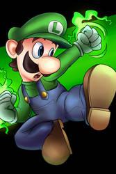 09. Luigi (SSBU) by AndrewMartinD