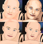 Practicing Colour Portraits in Procreate
