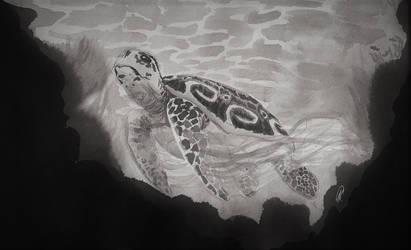 Inktober: Mythical creatures: Water: Xtamosbin by karend07