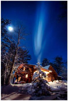 Cabin in Minnesota by roache7