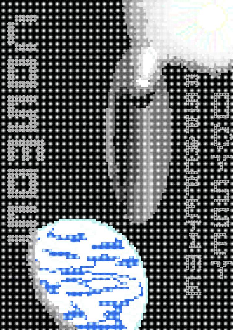 Pixel Cosmos Fan Art by AquaTitanPrime