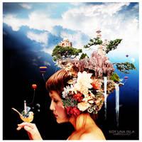 Soy una isla. I'm an Island by Gabryellalf