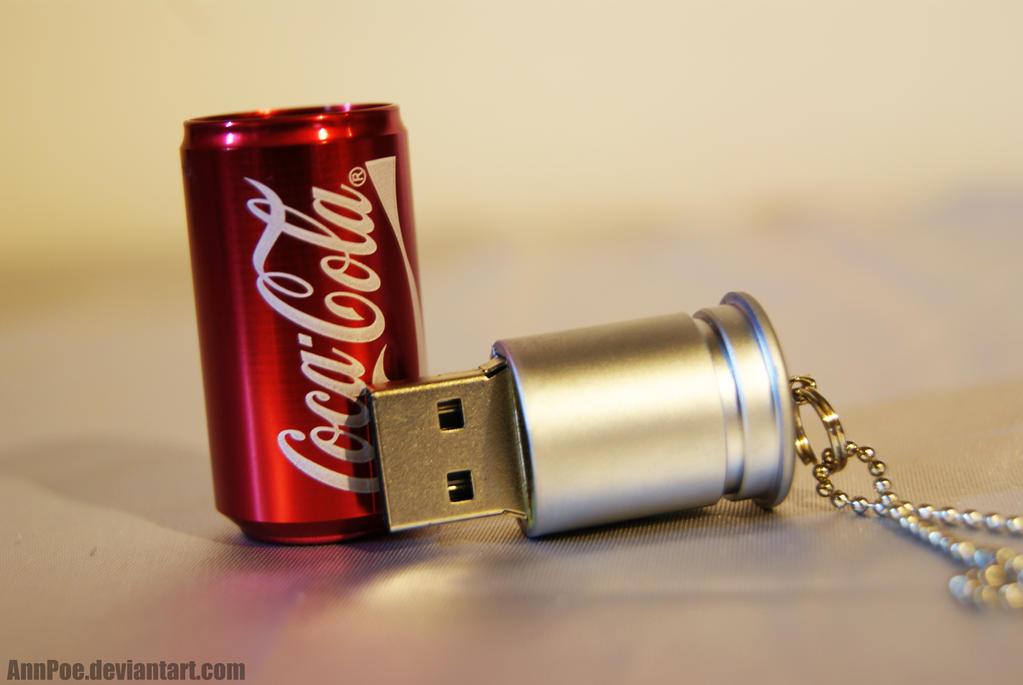 Coca-Cola USB by AnnPoe