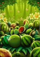 Yoshi's paradise by Irete