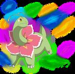 Meganium: Magical leaf by Irete