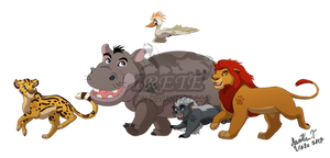 The lion Guard (Irete's version) by Irete