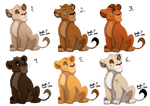 Adoptable cubs: Batch 7 CLOSED