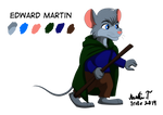 Character Sheet: Edward (Commission) by Irete
